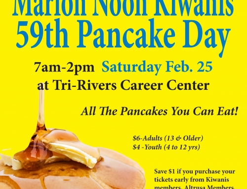Special thanks to our 2017 Pancake Day Sponsors