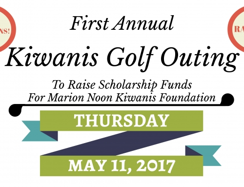 Sign Up! Kiwanis Golf Outing May 11