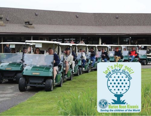 Join us! 2nd Annual Kiwanis Golf Outing June 8, 2018