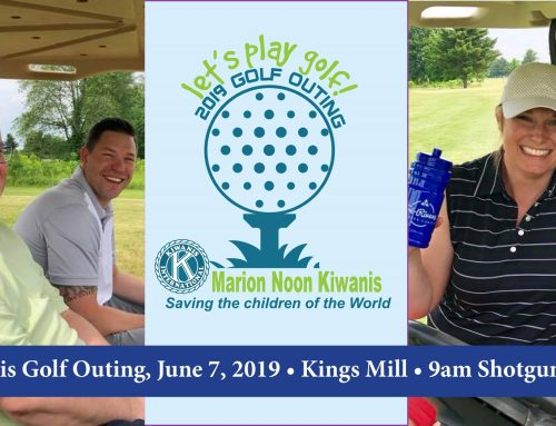Join Us! Kiwanis Golf Outing June 7 at Kingsmill
