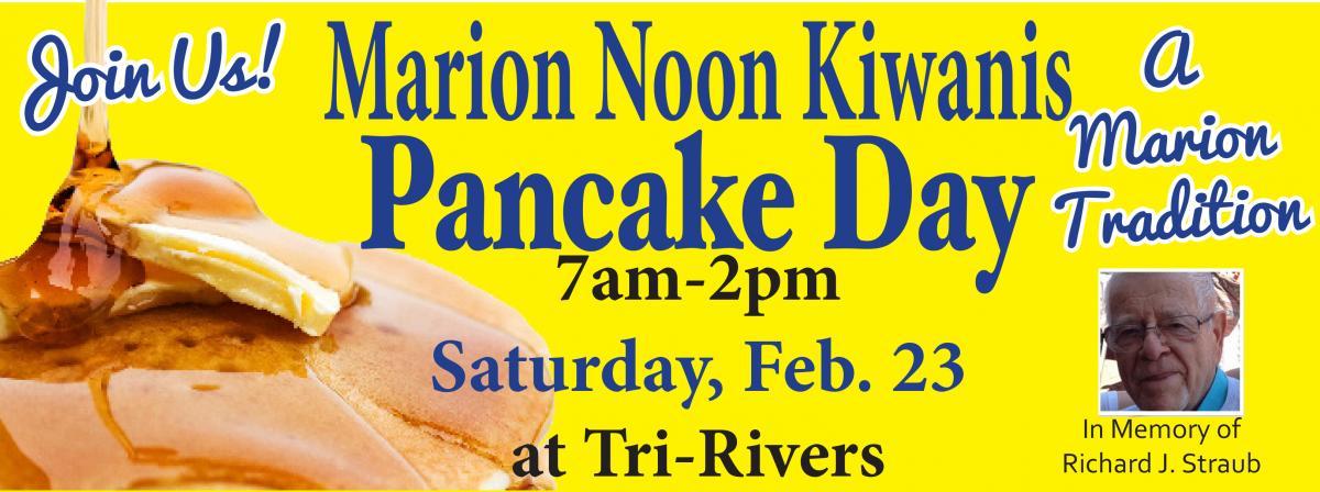 kiwanis cover Pancake Day 2019